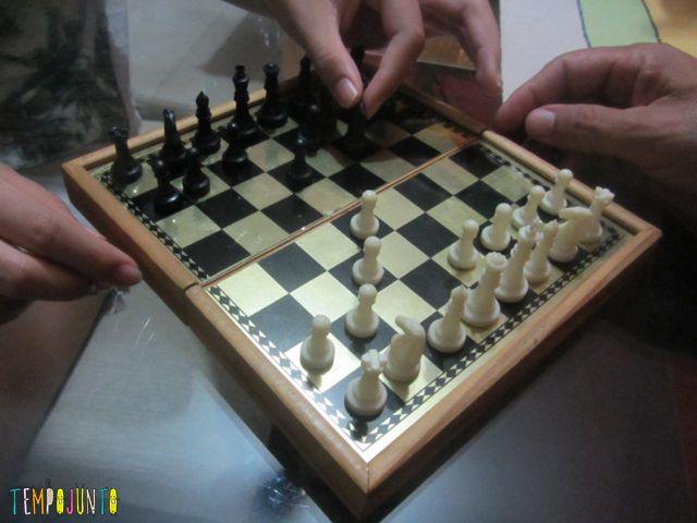 Jogos de tabuleiro - xadrez
