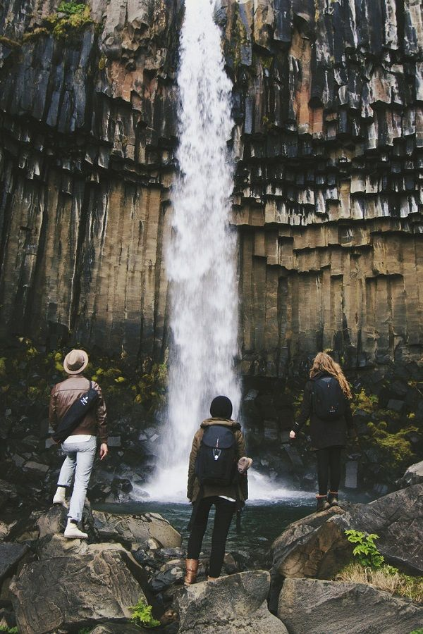 Svartifoss Waterfall / Southern Iceland. Published by Maan Ali