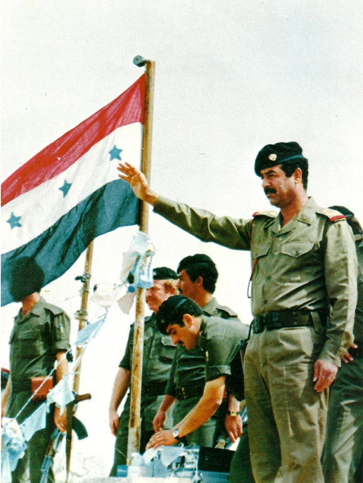 Saddam Hussein was a national ambition was citizenship is the main factor behind the strength of power, not fear or mishandling of such rumors in speeches by President Bush, who turned Iraq into a group of fools and thieves.