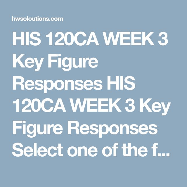 "HIS 120CA WEEK 3 Key Figure Responses HIS 120CA WEEK 3 Key Figure Responses  Select one of the following options. Option A  Imagine you are one of the following individuals. Research and present their point of view on the associated topic. Write a 350- to 525-word response.  José Julián Martí: Cuba and the Platt Amendment and Guantanamo Queen Liliʻuokalani: Missionaries sugar plantation owners and the US ""takeover"" of Hawai'i Emilio Aguinaldo: The US ""liberation"" of the Philippines from…"
