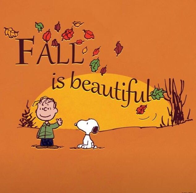 Fall.... the season that reminds me of you the most. The colors, the smell of baked goodies Thanksgiving. I miss you so much! Happiness is..Fall.