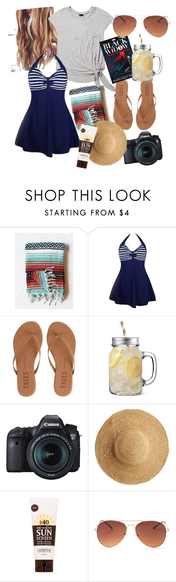"""""""Beach-ing time!"""" by nimas on Polyvore featuring Terez, Tkees, Eos, Flora Bella and Lavanila"""
