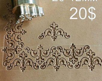 Outils pour l'artisanat en cuir. Timbre 32 par LeatherStampsTools