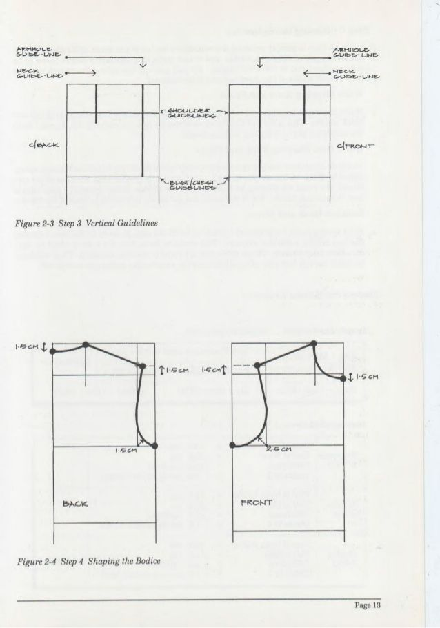 Pattern Drafting For Dressmaking Pamela C Stringer Pattern