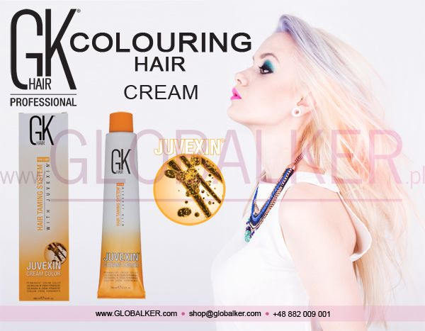 GK Hair hair colouring cream Global Keratin Juvexin