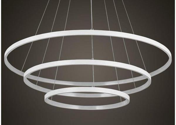 Indoor Modern Circular Ring Chandelier Ring Chandelier Modern Luxury Lighting Chandelier