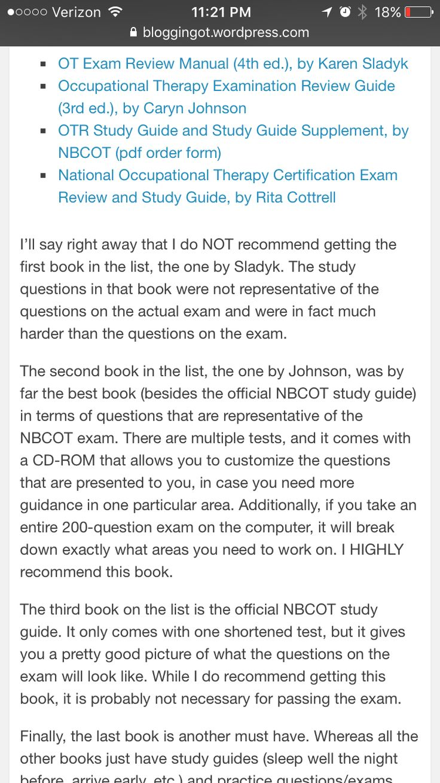 7 Best Nbcot Exam Prep Images On Pinterest