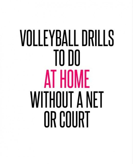 Drills that only require a ball, your home, and sometimes a partner. Perfect for summer training when you cannot get into a gym.