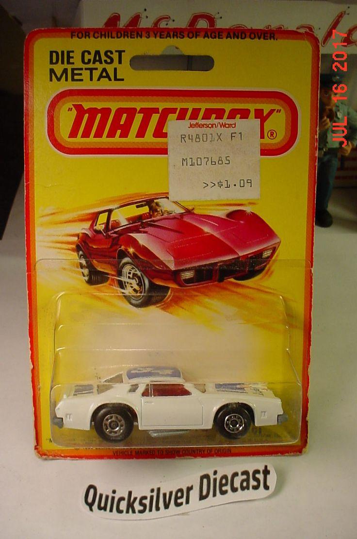 Matchbox Chevy Pro Stocker Chevelle Laguna White ERROR