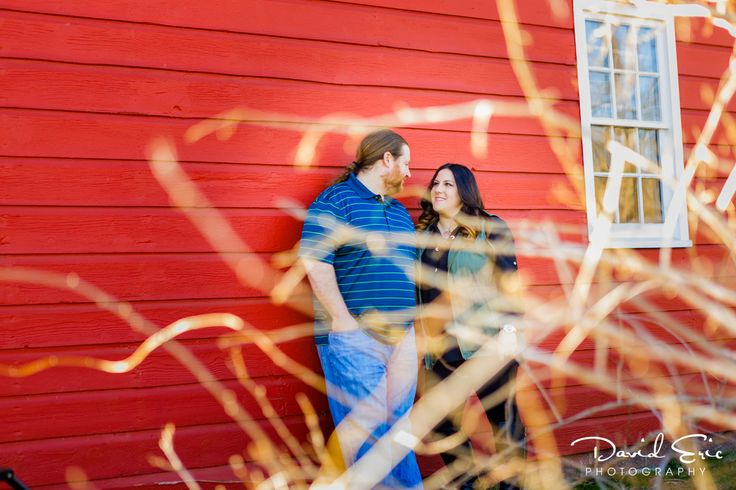 Casey and Christopher spent some time at the historic New Bridge Landing to do a get-to-know-you session for their October wedding at the Ho-Ho-Kus Inn & Tavern. The way they look at each other, you know it's true love.