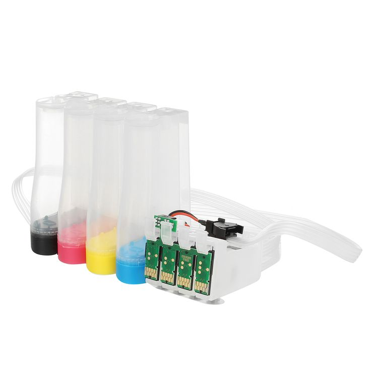Continuous Ink System For Epson Workforce WF-2750 WF-2760 CISS 2 Standard