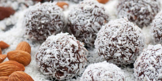 Fruit-Free Bliss Balls