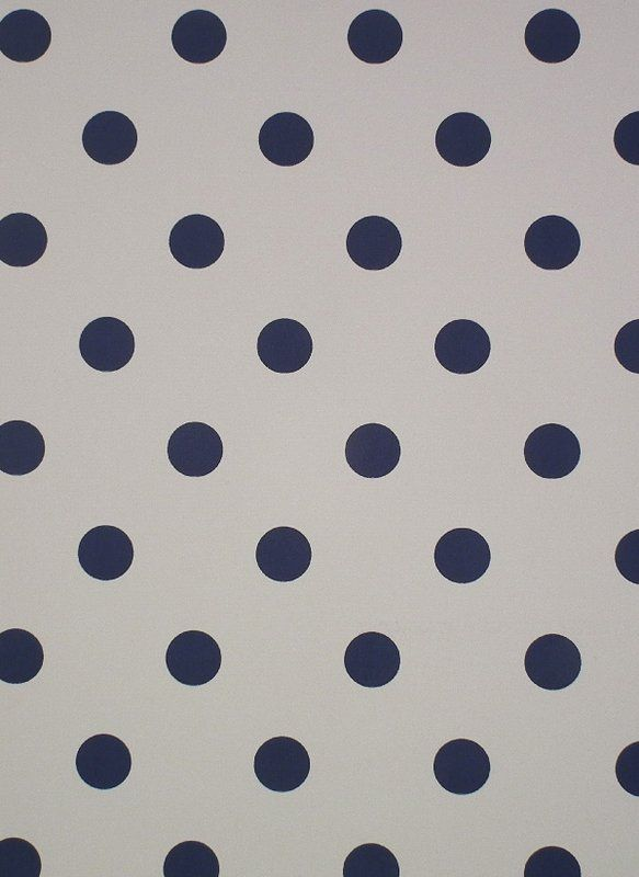 Polka Dot Wallpaper Denim (30207-106) – James Dunlop Textiles | Upholstery, Drapery  Wallpaper fabrics