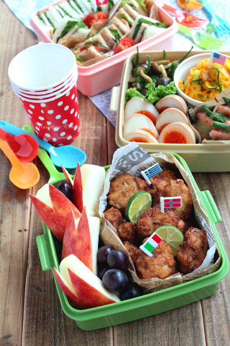 2012運動会サンドイッチのお弁当♪|毎日がお弁当日和♪