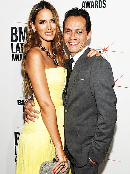 Star Tracks: Thursday, April 2, 2015 | MIAMI HEAT | Marc Anthony and his new wife Shannon de Lima cuddle up on the red carpet at BMI's 22nd Annual Latin Music Awards in Miami Beach on Tuesday.