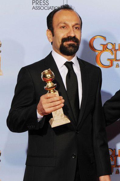 Asghar Farhadi - 69th Annual Golden Globe Awards - Press Room