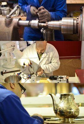 atelier artisanal création fabrication restauration réparation cuivre argent étain SAV KitchenAid