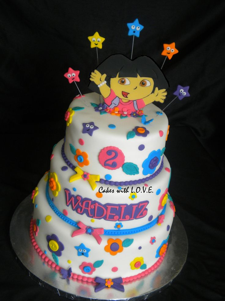 58 Best Images About Dora The Explorer Cakes On Pinterest