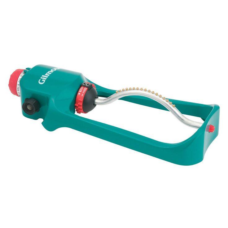Gilmour 7800PMT Oscillating Sprinkler With Timer (Oscillating Sprinklers), Green
