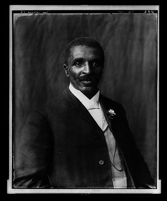 [George Washington Carver, half-length portrait, facing right, Tuskegee Institute, Tuskegee, Alabama]