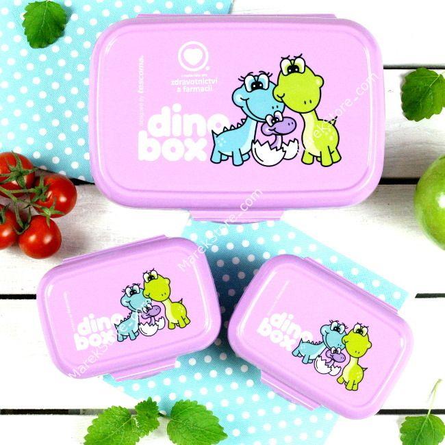 Pojemniki na drugie śniadanie i przekąski dla dzieci - BPA FREE | TESCOMA DINO