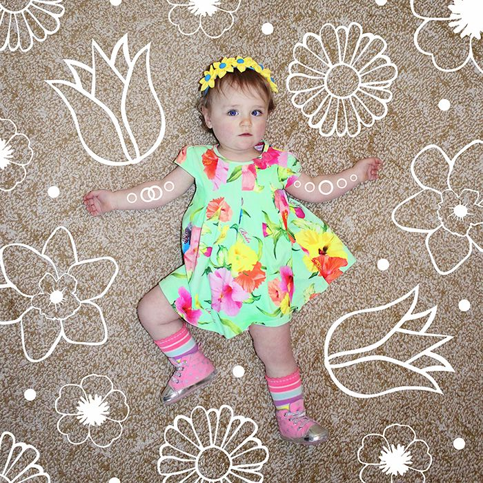 Nova Vogue Collection | 12 -15 Months | Spring Chickie