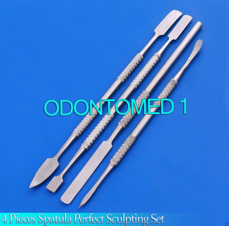 4 Pieces Spatula Perfect Sculpting Tools Set Stainless Steel in Business & Industrial, Healthcare, Lab & Life Science, Dental Equipment | eBay