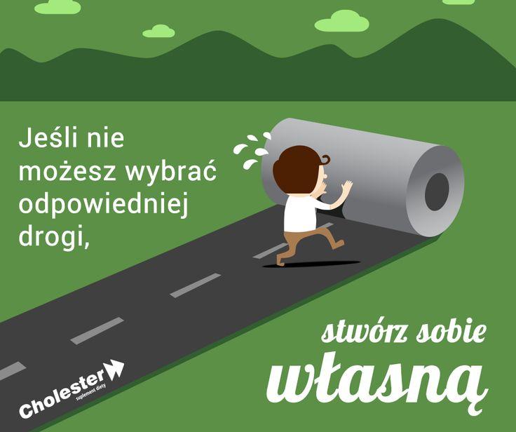 Jaką drogę dziś wybierasz?   #cholester #trening #zdrowie #motywacja #droga