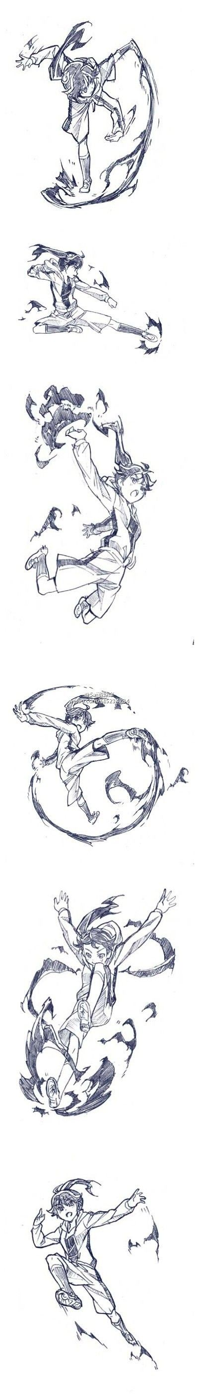 #SAI Repository # animation sa ki の crescent fighting move ...