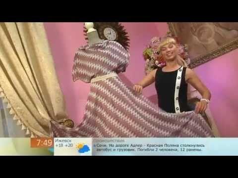 f76b1d38e31 сшить платье бабочка Я sew a dress butterfly - YouTube