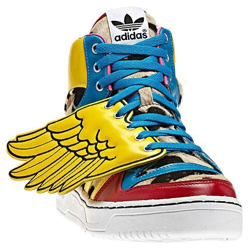 Jeremy Scott Adidas Wing Sneakers