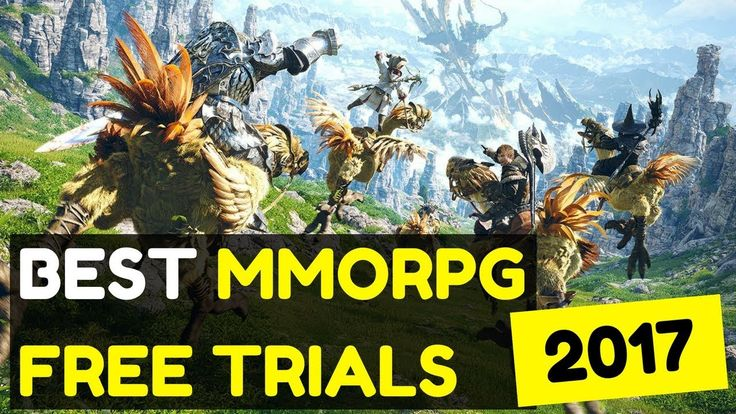 Best MMORPG Free Trials 2017 - 5 Top MMOs