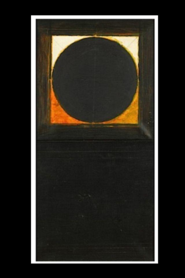 SAYED HAIDER RAZA http://www.widewalls.ch/artist/sayed-haider-raza/ #abstract #art #painting