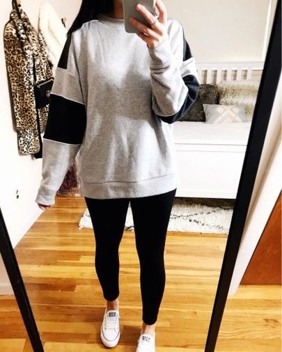 leggings outfit leggings outfit winter casual leggings outfit winter tunic tops tunic tops with leggings casual outfits casual outfits winter casual outfits for winter #casualwomensfashion #casualfashion #casualoutfitsforwomen spring shoes spring shoes for women spring shoes for women casual shoes converse shoes outfit converse shoes outfit winter cozy outfit cozy style #casualstyle colorblock sweatshirt converse shoreline outfit