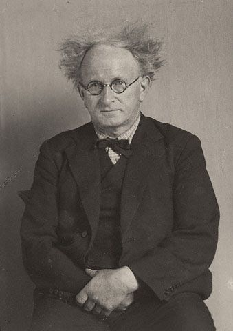 Portrait of August Sander after His Nap; August Sander