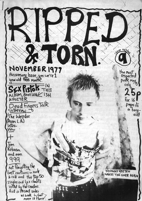 'Ripped & Torn' (1976-1979) produced by Tony Drayton covering the Punk scene in London and Glasgow