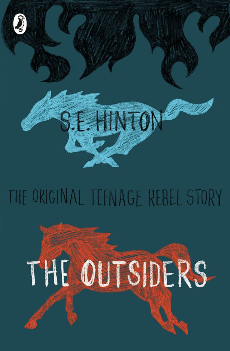 The Outsiders Book Cover Pictures ~ Book cover design by tree three of s e hinton quot the