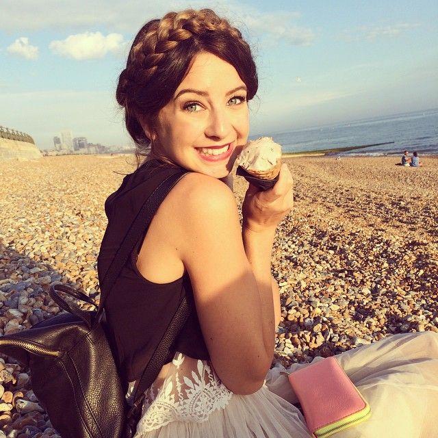 Ice cream on the beach | Use Instagram online! Websta is the Best Instagram Web Viewer!