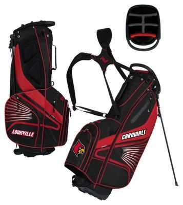 Team Effort GridIron III Stand Golf Bag - University of Louisville