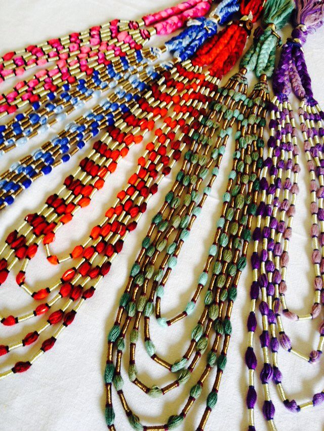 Our beautiful Ombré necklaces from the S/S15 Colour Gradation series, S jo Colour Play collections 2015. Sjoaccessories.com