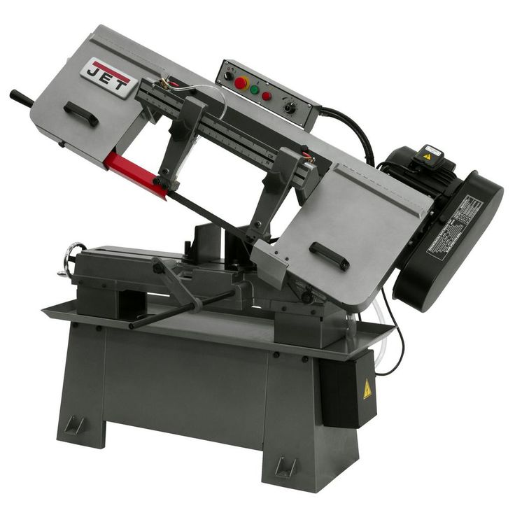 JET J-7015 8 in. x 13 in. Horizontal Band Saw