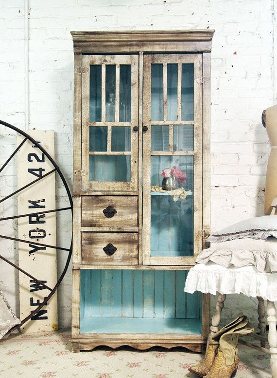 Painted Cottage Chic Shabby Handmade Farmhouse by paintedcottages, $695.00