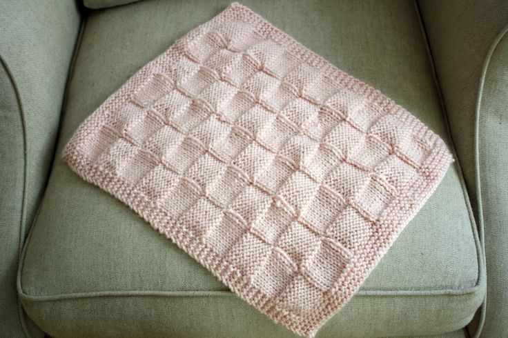 Free Baby Afghan Knitting Patterns Knitted Doll Blanket
