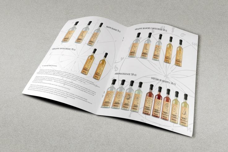 Etichetta Grappa linea Alkemya - Catalogo