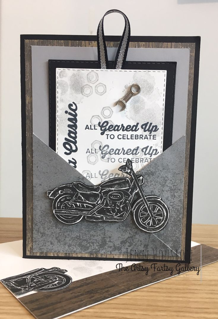 Stampin' Up! – Geared Up Garage