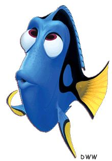 """Dory (from """"Finding Nemo""""): an excellent representation of anterograde amnesia (the inability to form new memories)."""