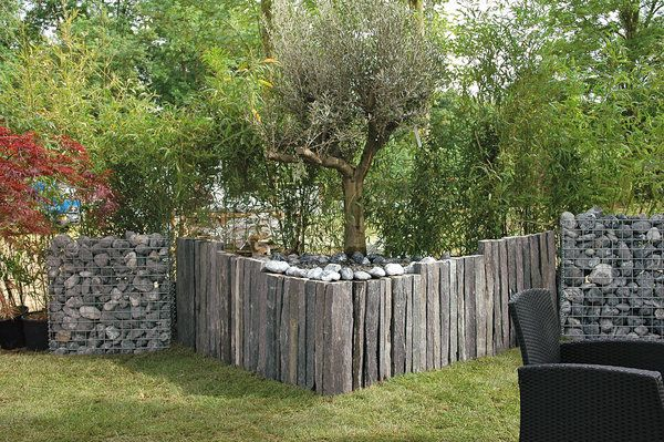 De l ardoise dans nos jardins galerie photos d 39 article for Amenagement jardin bordure