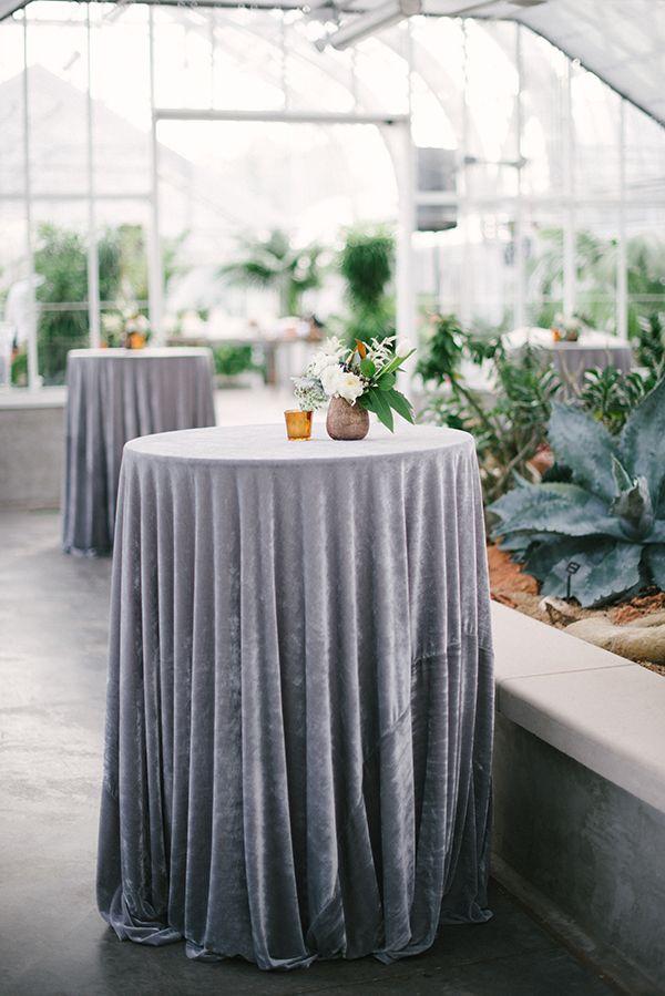Gray velvet linens | Emily Ann Hughes