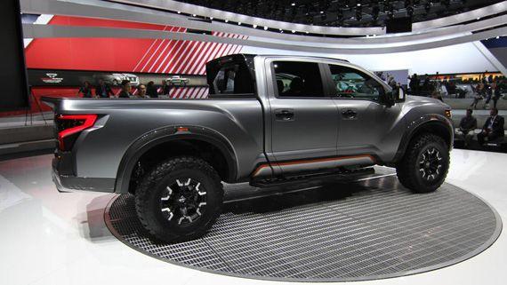 Концепт пикапа Nissan Titan Warrior 2016 / Ниссан Титан Варриор