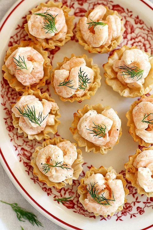 Easy Shrimp Salad Bites | http://girlversusdough.com /girlversusdough/